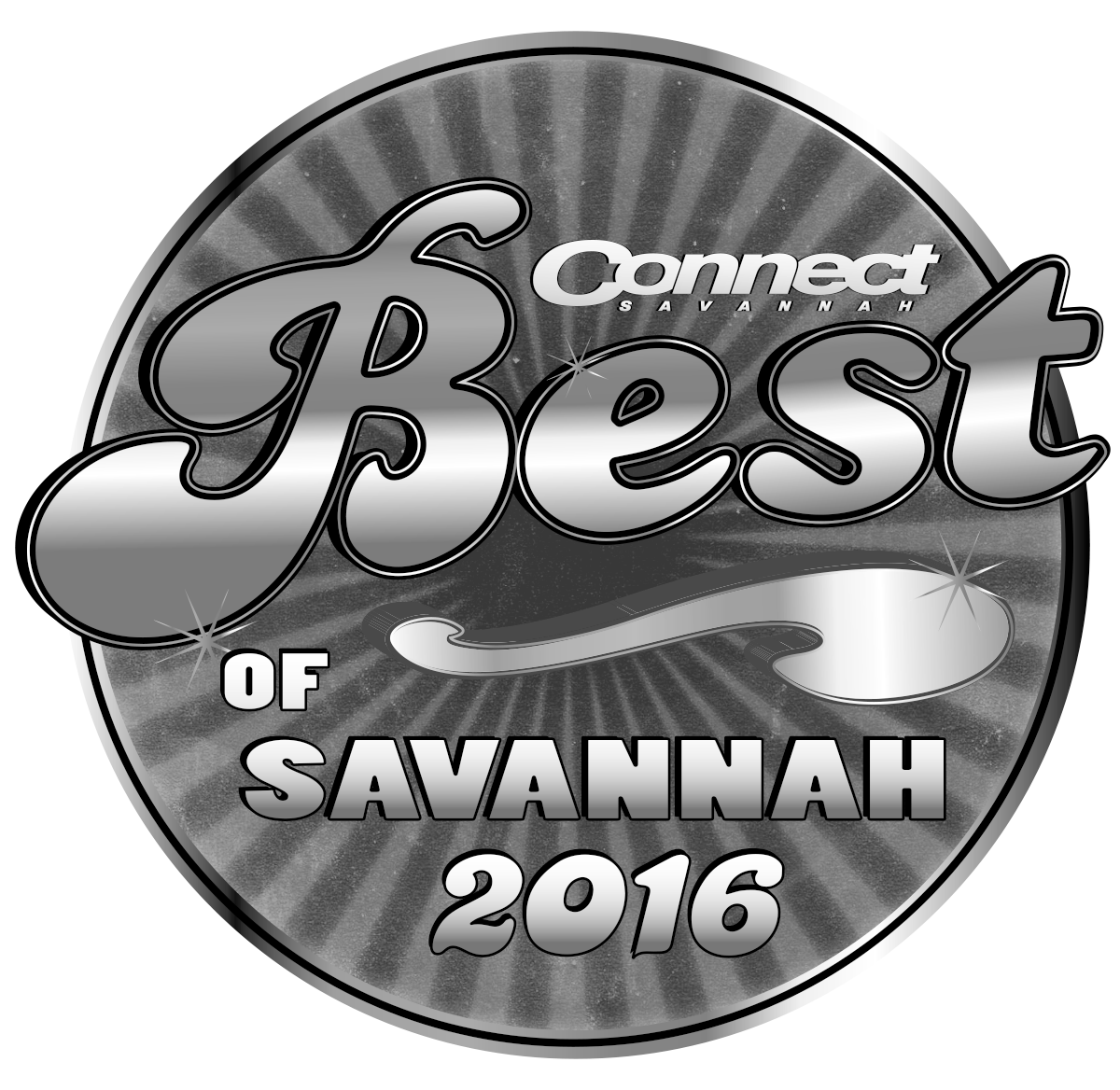B&W Best of Savannah 2016 Logo