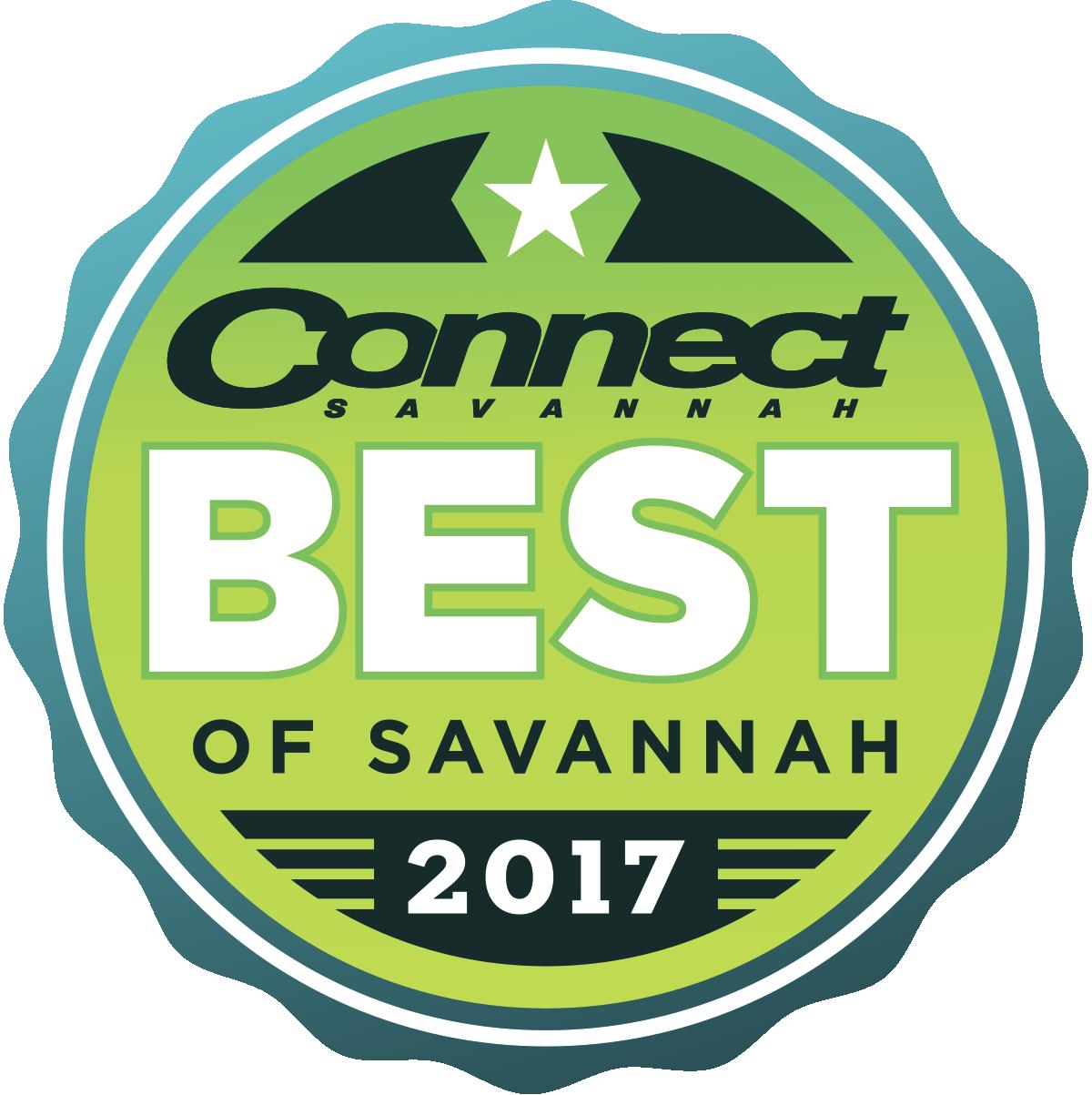 CMYK Best of Savannah 2017 Logo