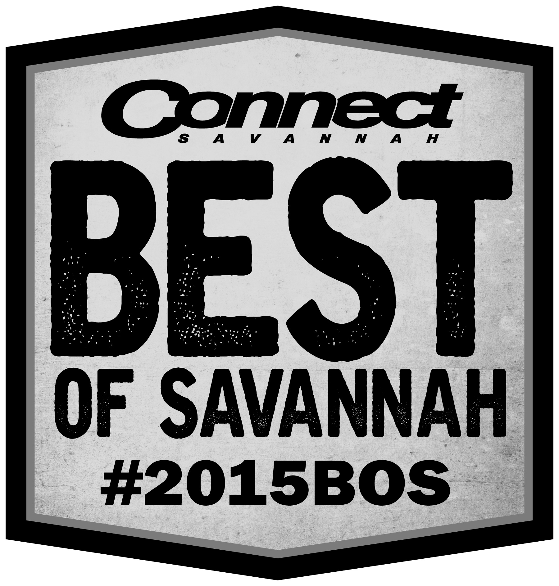 B&W Best of Savannah 2015 Logo